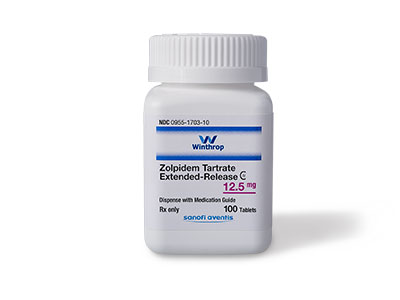 Zolpidem Tartrate Extended-Release C-IV 12.5 mg
